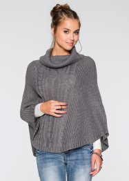 Poncho en maille, RAINBOW
