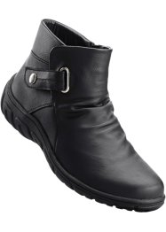Bottines en 2 largeurs, bpc selection, noir