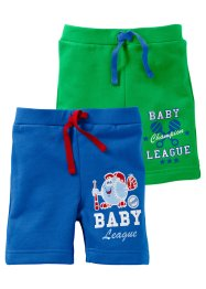 Le lot de 2 bermudas bébé (bpc bonprix collection)