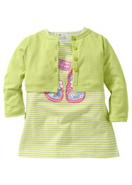Le T-shirt bébé + le boléro (Ens. 2 pces.) (bpc bonprix collection)