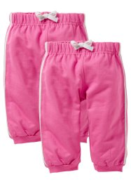 Le lot de 2 pantalons sweat bébé (bpc bonprix collection)