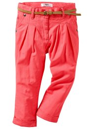 Le pantalon chino + la ceinture (bpc bonprix collection)