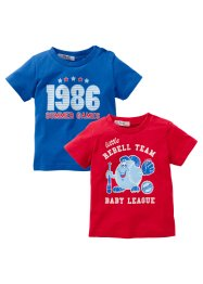 Le lot de 2 T-shirts bébé (bpc bonprix collection)