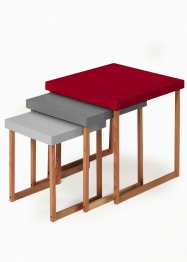 Les tables gigogne Paul (Ens. 3 pces.) (bpc living)