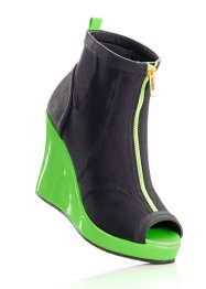 Les bottines peep-toe (RAINBOW)