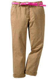 La pantalon chino et sa ceinture (bpc bonprix collection)