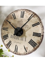 L'horloge murale Alley (Sticker) (bpc living)