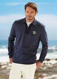 Le sweatshirt col polo (bpc bonprix collection)