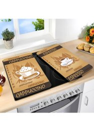 Le lot de 2 protège-table de cuisson Café