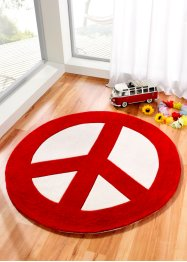 Le tapis Peace and Love (bpc living)