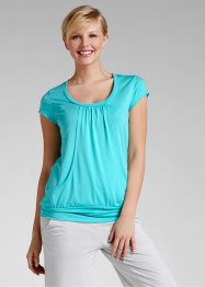 Le T-shirt long extensible