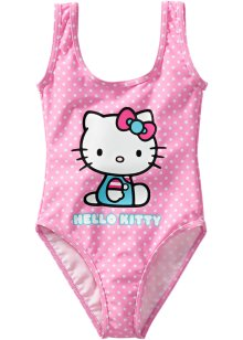 Maillot 1 pièce, Hello Kitty, rose Hello Kitty