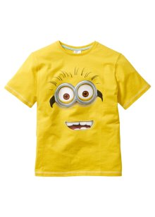 T-shirt MINIONS, Despicable Me 2, jaune