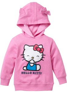 Sweat-shirt à capuche HELLO KITTY, Hello Kitty, rose HELLO KITTY