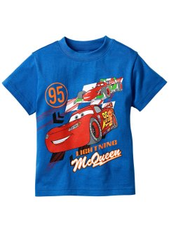 T-shirt CARS, Disney, bleu azur Cars