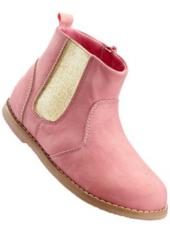 Bottines, bpc bonprix collection, rose