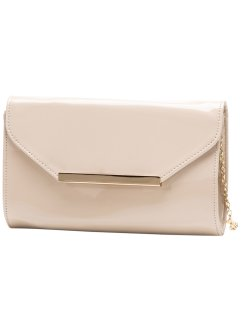 Pochette vernie, bpc bonprix collection, nude