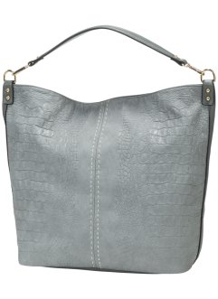 Sac shopper design animalier, bpc bonprix collection, gris