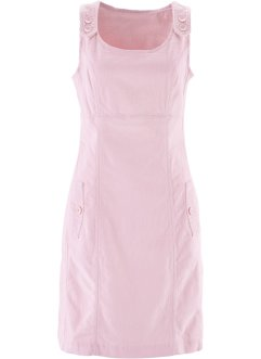 Robe en velours côtelé extensible, bpc bonprix collection, rose nacré