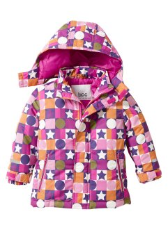 Veste de ski, bpc bonprix collection, fuchsia imprimé