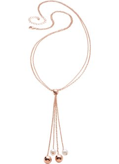 Long collier, bpc bonprix collection, doré rose
