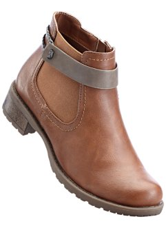 Bottines, bpc bonprix collection, camel/taupe