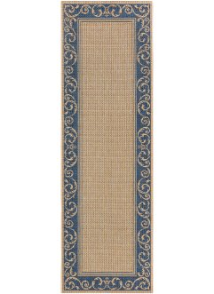 Tapis de passage Natacha, bpc living, bleu