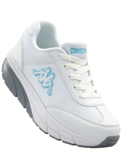 Chaussures de sport, Kappa, blanc/turquoise