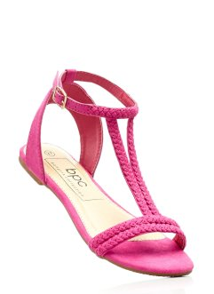 Sandales, bpc bonprix collection, fuchsia