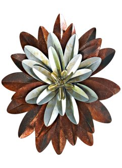 Décoration murale Flower, bpc living, Ø 25cm