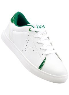 Tennis, bpc bonprix collection, blanc/vert pelouse