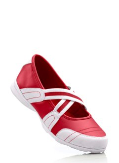 Ballerines, bpc selection, rouge/blanc