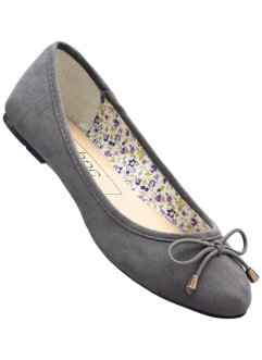 Ballerines, bpc bonprix collection, gris clair