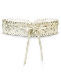Ceinture, bpc bonprix collection, gold metallic