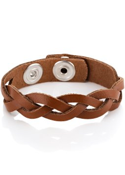 Le bracelet en cuir tressé (bpc bonprix collection)