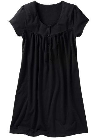 chemise de nuit de grossesse noir femme bpc bonprix collection nice size. Black Bedroom Furniture Sets. Home Design Ideas