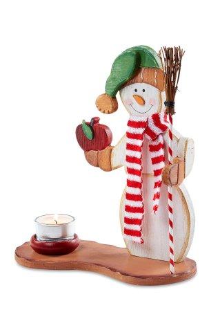 Porte bougie bonhomme de neige multicolore bpc living commande online bon - Bonprix suivi de commande ...