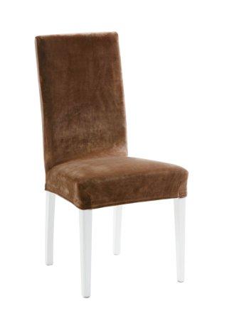 housse de chaise susi marron bpc living commande online. Black Bedroom Furniture Sets. Home Design Ideas