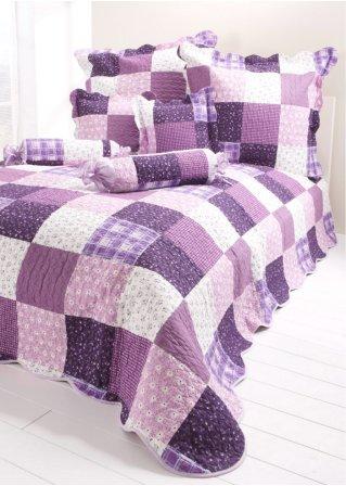 le couvre lit milva violet maison. Black Bedroom Furniture Sets. Home Design Ideas