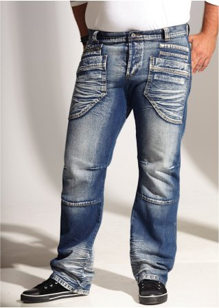 Le jean droit Regular Fit, Long. 32