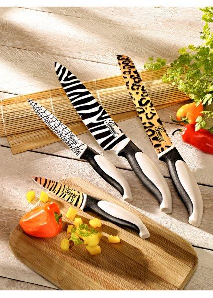 Le set de couteaux Africa 4 pces.