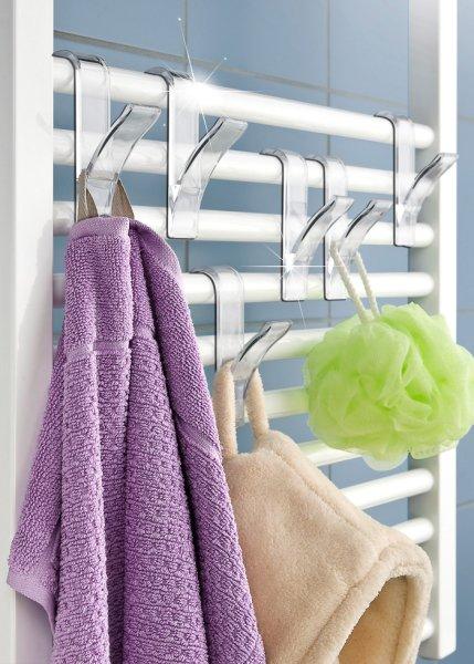 Le lot de 6 crochets pour radiateur