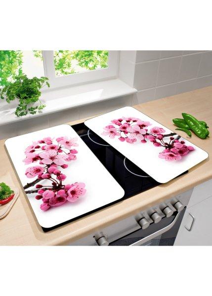 Le lot de 2 portège-table de cuisson Cerisier