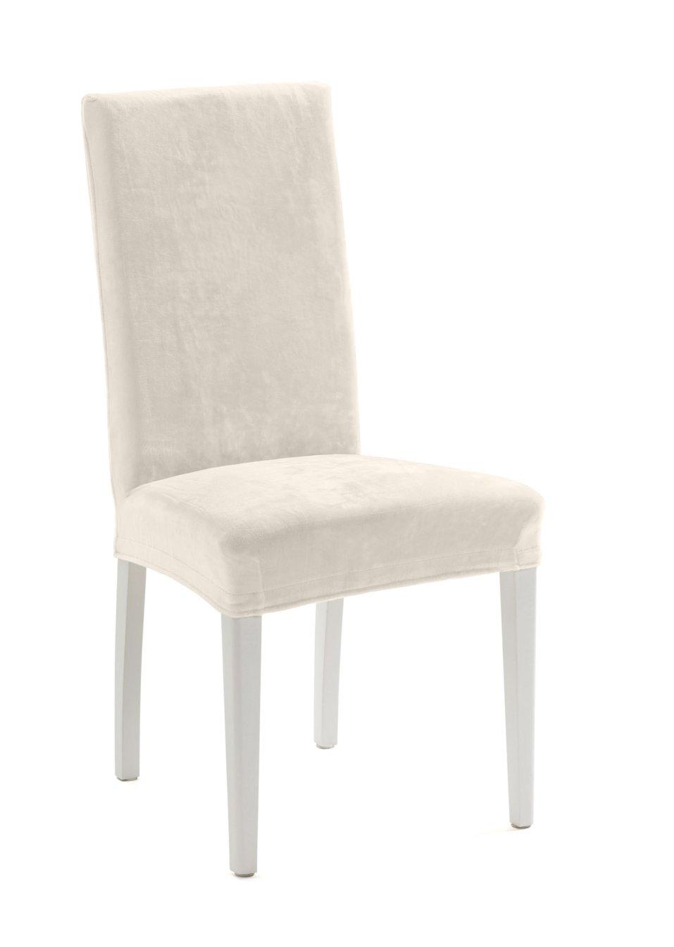 housse de chaise susi cru maison bpc living. Black Bedroom Furniture Sets. Home Design Ideas