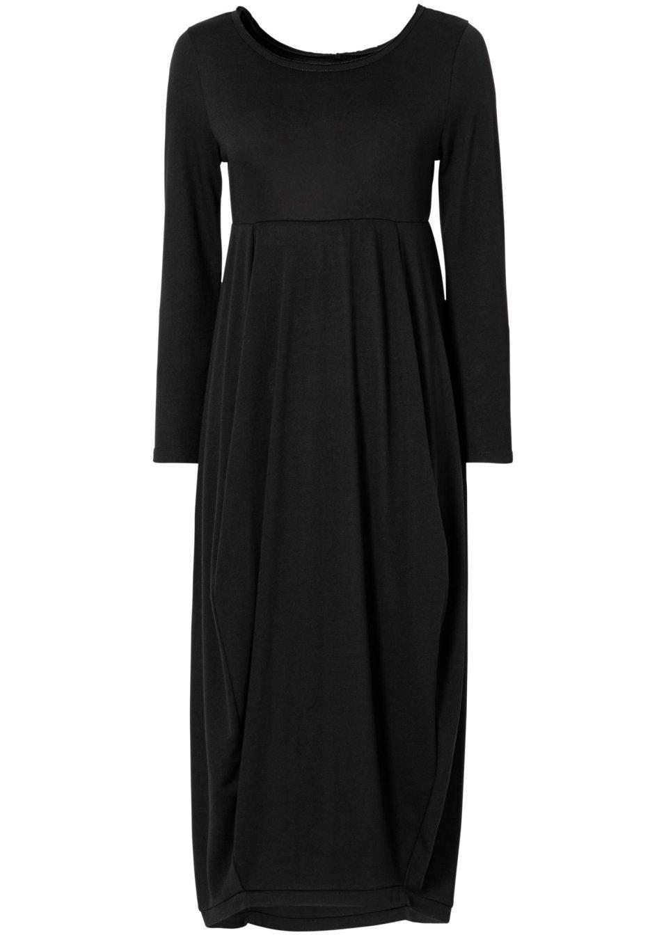 robe longue noir femme. Black Bedroom Furniture Sets. Home Design Ideas