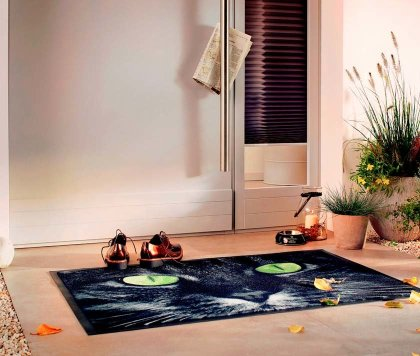 Maison - Tapis de protection Cat - noir