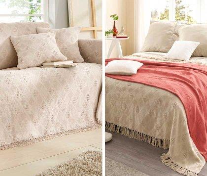 couvre lit lgant au meilleur prix bonprix - Couverture Lit