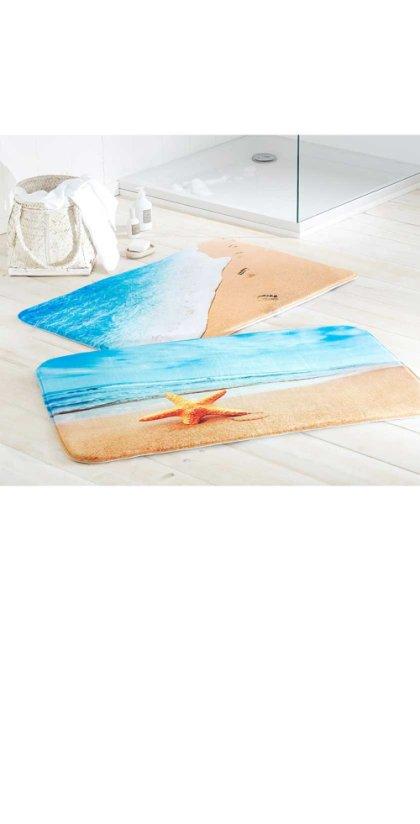 Parure De Bain élégante Au Meilleur Prix Bonprix - Carrelage piscine et tapis beige et orange