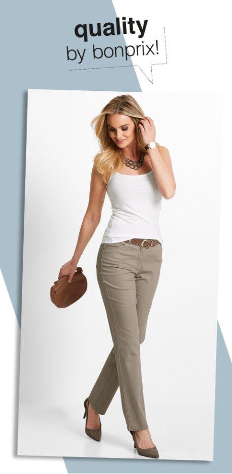 Pantalons sur www.bonprix.fr. Un choix unique pas cher! ff819f5a54b4