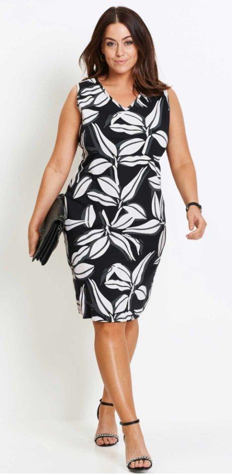 robes pour femmes grandes tailles petit prix bonprix. Black Bedroom Furniture Sets. Home Design Ideas